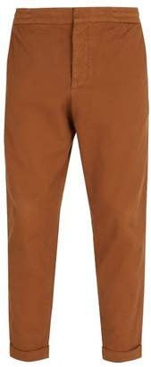 Barena Venezia - Mid Rise Cotton Blend Trousers - Mens - Light Brown