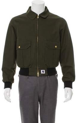 Carhartt x Adam Kimmel Denim Zip-Front Jacket