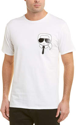 Karl Lagerfeld Caricature T-Shirt
