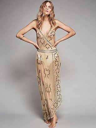 Sky Fall Embellished Maxi by Intimately at Free People $198 thestylecure.com