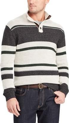Chaps Big & Tall Classic-Fit Mockneck Sweater