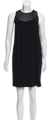 Paul Smith x Black Label Embellished Knee-Length Dress