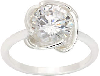 clear SPARKLE ALLURE Sparkle Allure Womens Cocktail Ring