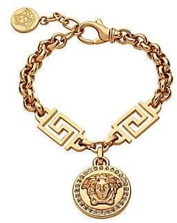 Versace Women's Icon Medusa Crystal Bracelet