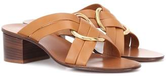 Chloé Rony leather sandals