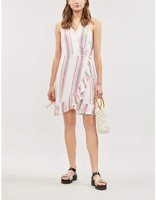 Rails Madison striped linen-blend dress