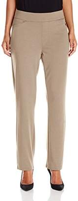 Chic Classic Collection Women's Petite Knit Pull-On Pant