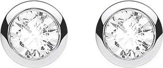 Thomas Sabo Classic white zirconia stone sterling silver ear studs