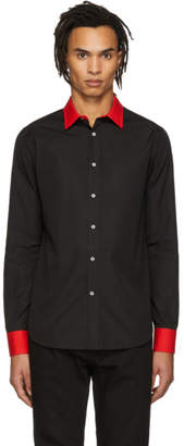 Alexander McQueen Black Cotton Shirt