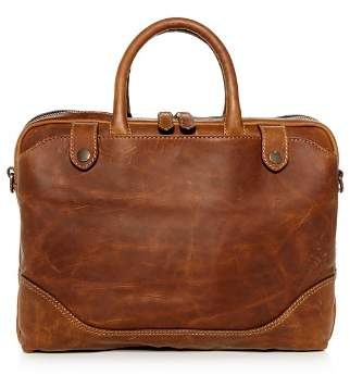 Frye Logan Slim Leather Briefcase