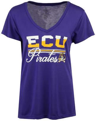 Colosseum Women's East Carolina Pirates PowerPlay T-Shirt