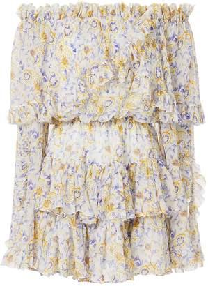 Caroline Constas Dahlia Off Shoulder Dress
