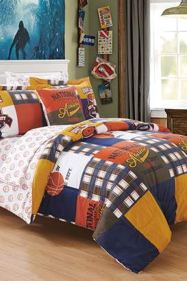 Beaulieu Reversible Patchwork Bed in a Bag - Multi