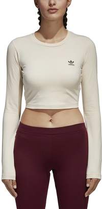 adidas Women's Styling Compliments Cropped T-Shirt