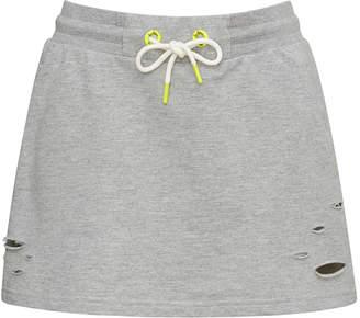 Sam Edelman Distressed Sweat Skirt