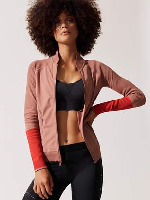 adidas by Stella McCartney Run Ultra Flat Knit Woven Jacket