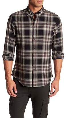Slate & Stone Plaid Print Regular Fit Shirt