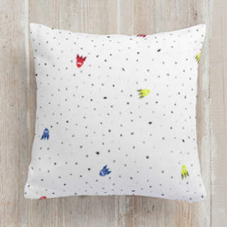 Rockets Away Square Pillow