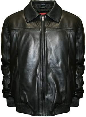 Men's Franchise Club Home Base Lambskin Leather Bomber Jacket