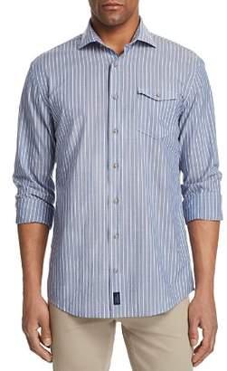 Johnnie-O Troxler Striped Regular Fit Button-Down Shirt
