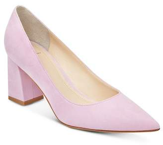 Marc Fisher Women's Zala Suede Block Heel Pumps