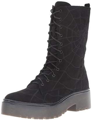 Iron Fist Women's Walking in My Web Combat Boot