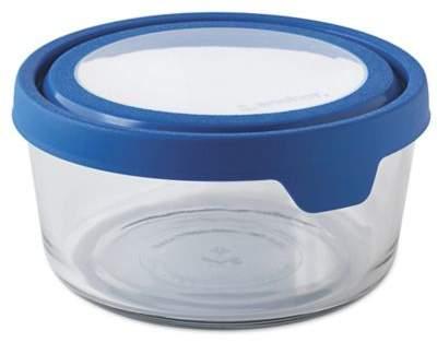 Anchor Hocking True Seal 7-Cup Round Food Storage in Blueberry