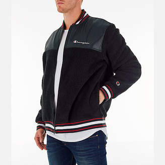Champion Men's Sherpa Baseball Jacket
