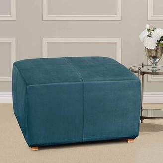 Sure Fit Ultimate Heavyweight Stretch Suede Ottoman Cover