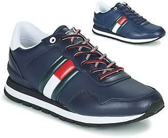 LEATHER LIFESTYLE SNEAKER men's Shoes (Trainers) in Blue