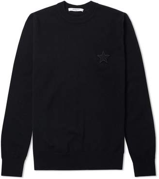 Givenchy Star logo Crew Neck Knit