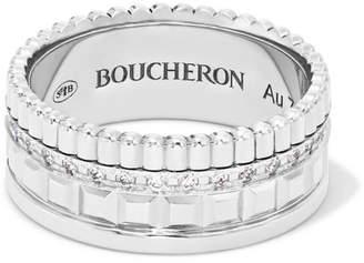 66f4de82d27b6 Boucheron White Ring For Women - ShopStyle UK