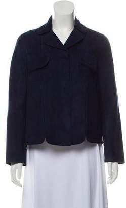 Longchamp Casual Suede Jacket