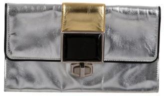 Balenciaga Balenciaga Metallic Embellished Clutch