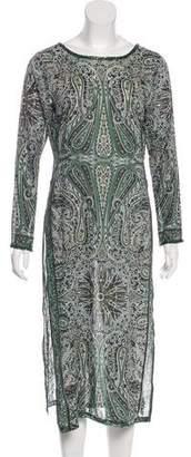 Calypso Printed Midi Dress