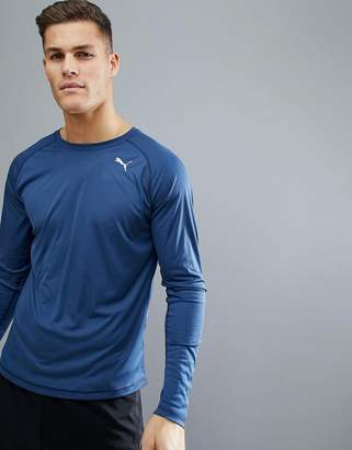 Puma Long Sleeve Top In Blue 51501006