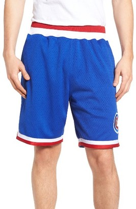 Men's Mitchell & Ness Chicago Cubs Playoff Win Mesh Shorts $125 thestylecure.com