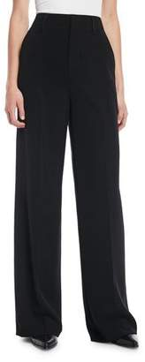 Vince High-Rise Wide-Leg Trousers