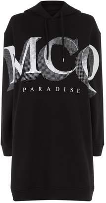 McQ Paradise Hoodie Dress