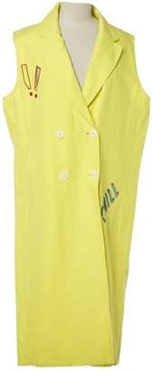 Mira Mikati Yellow Cotton Dresses
