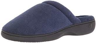 Isotoner Women's Terry Slip On Clog Slipper with Memory Foam for Indoor/Outdoor Comfort