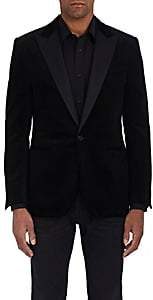 Ralph Lauren Purple Label Men's Anthony Cotton Corduroy Tuxedo Jacket - Black