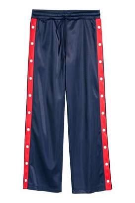 H&M Sports Pants - Dark blue - Women