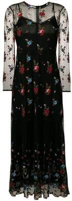 DAY Birger et Mikkelsen Ermanno Ermanno floral embroidered midi dress