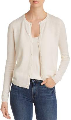 Bloomingdale's C by Crewneck Cashmere Cardigan - 100% Exclusive