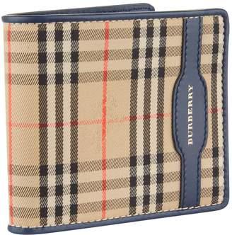 Burberry Haymarket Check Bifold Wallet