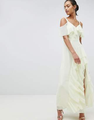 Coast Illy Ruffle Maxi Dress