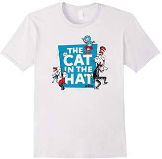 Dr. Seuss The Cat in the Hat Characters T-shirt