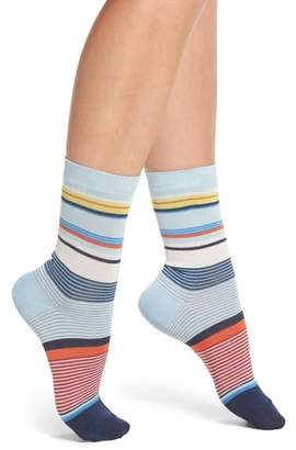 Paul Smith Eliza Stripe Crew Socks