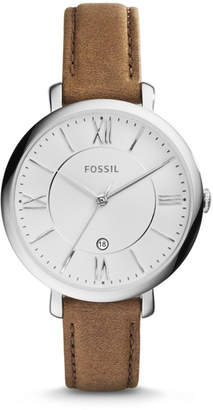 Fossil Jacqueline Brown Leather Watch